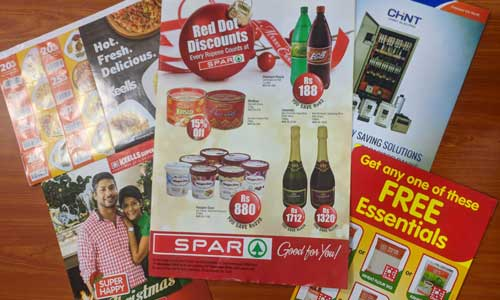 commercial-printing leaflet
